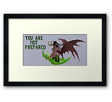 Illidan Stormrage (World of Warcraft) Framed Print