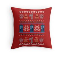 Home for the Who-lidays Throw Pillow
