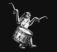 Monkey Drummer (no tagline) Unisex T-Shirt