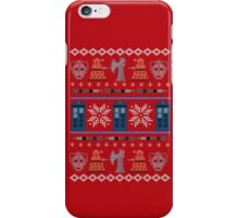 Home for the Who-lidays iPhone Case/Skin