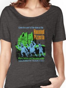 The Haunted Pizzeria Women's Relaxed Fit T-Shirt