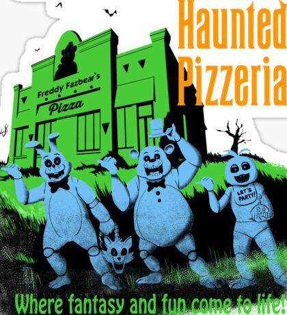 The Haunted Pizzeria Sticker