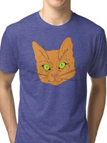 Cat's Whiskers Tri-blend T-Shirt