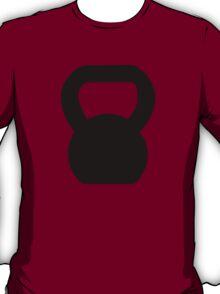 Kettlebell WOD Black Large T-Shirt