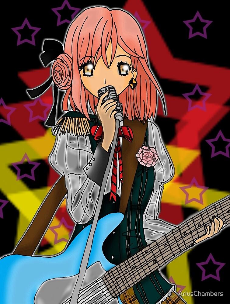 Rockin' Haruka by AriusChambers