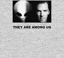 They Are Among Us - Benedict Cumberbatch is an Alien Unisex T-Shirt