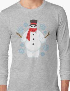 Snowman Baymax Long Sleeve T-Shirt