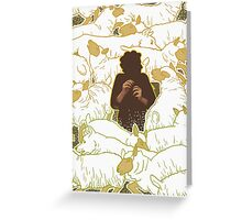 Boy Who Cried Wolf Greeting Card