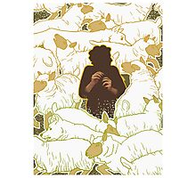 Boy Who Cried Wolf Photographic Print