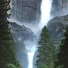 Yosemite Falls by Ray Rozelle