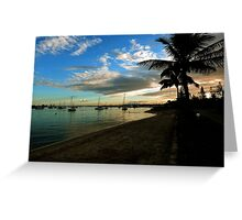 Southport Sunrise. Gold Coast, Queensland, Australia. Greeting Card