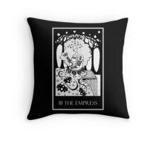 The Empress (card form) Throw Pillow