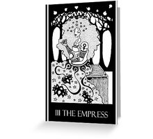 The Empress (card form) Greeting Card