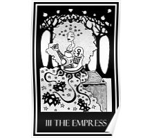 The Empress (card form) Poster