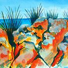 Tassie Rocks by marlene veronique holdsworth