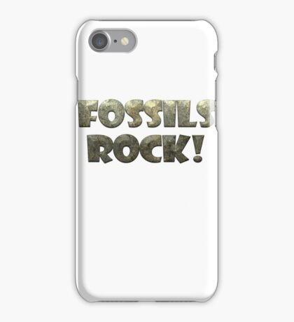 Fossils Rock! iPhone Case/Skin