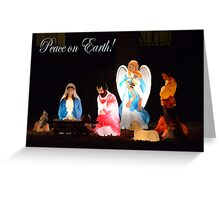 Peace on Earth! Greeting Card