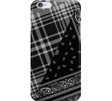 Tartan Bandanna Print iPhone Case/Skin