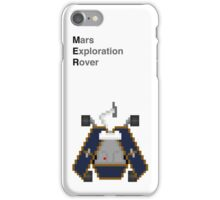 Space Pixels - Mars Exploration Rovers iPhone Case/Skin