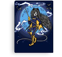 Marceline BatGirl Canvas Print