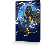 Marceline BatGirl Greeting Card