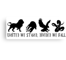 Unity has never been more important. Canvas Print