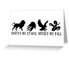 Unity has never been more important. Greeting Card