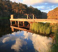 Lake Catani, Mt Buffalo, Victoria, Australia by Michael Boniwell