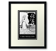 The Magician (card form) Framed Print