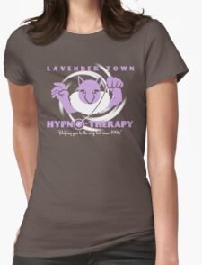 Lavender Town Hypno-Therapy 2.0 Womens Fitted T-Shirt
