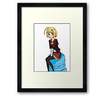 Cute Rin Framed Print