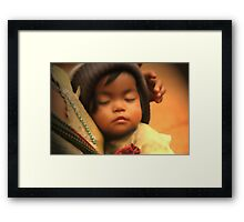 puek daughter Framed Print