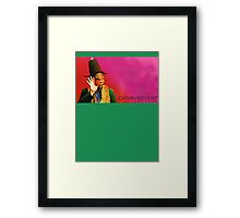 Captain Beefheart - Trout Mask Replica Framed Print
