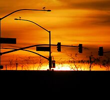 Urban Sunset by Stephen Forbes