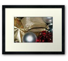 Packing Christmas Away 4 Framed Print