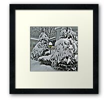 A Light In The Storm Framed Print