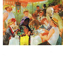 Renoirs Banquet for Refugees by atomikboy