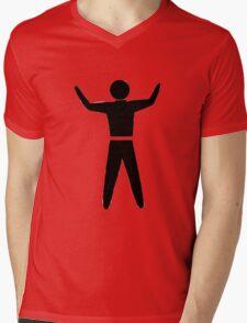 Trigger Happy Mens V-Neck T-Shirt