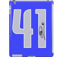 DIRK #41 iPad Case/Skin