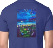 Drummers and Firetwirlers - Terrigal NSW Unisex T-Shirt
