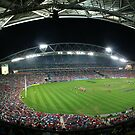 Telstra Stadium, Sydney by Lisa  Kenny