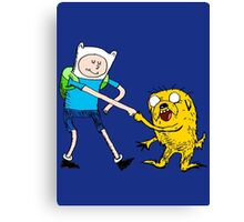 Adventure Time with Dr. Seuss Canvas Print