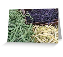 Beans, Beans, and Nothing But Beans! Greeting Card
