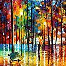 Blue Reflections — Buy Now Link - www.etsy.com/listing/214281704 by Leonid  Afremov