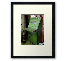 Like a 60s TARDIS console Framed Print