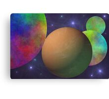 Naked Planet Canvas Print