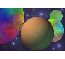 Naked Planet Photographic Print