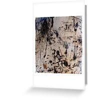 Graffiti Tree Greeting Card