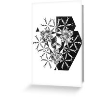 Crest by Joh H Potter  Greeting Card