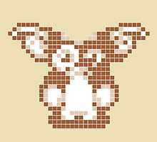 """Gremlins """"Don't Feed After Midnight."""" Gizmo Movie 8-bit by CanisPicta"""